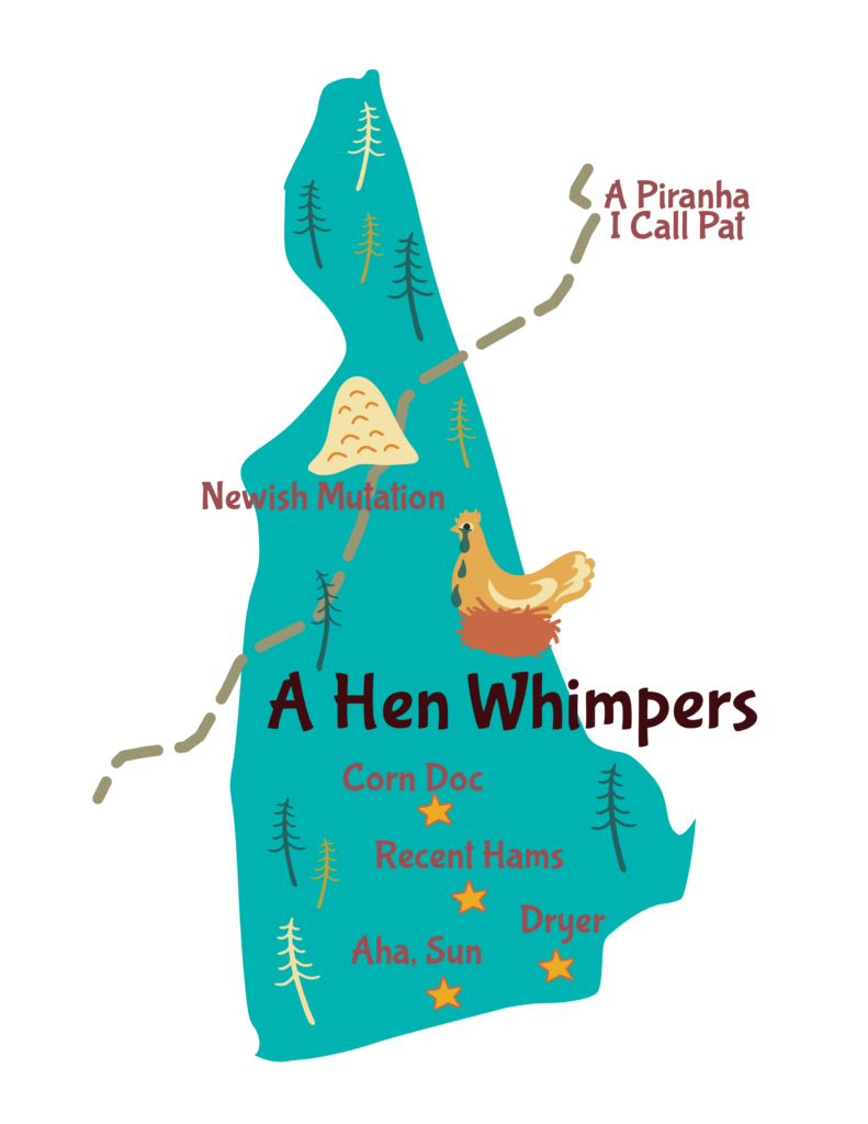 Anagram map of New Hampshire